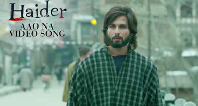 Download Aao Na (Promo) HD Video Song of Movie Haider