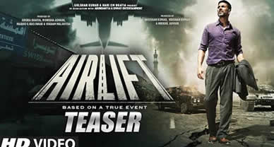Download Airlift Movie HD Video Teaser