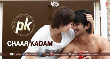 Download Chaar Kadam Promo Video song of movie PK