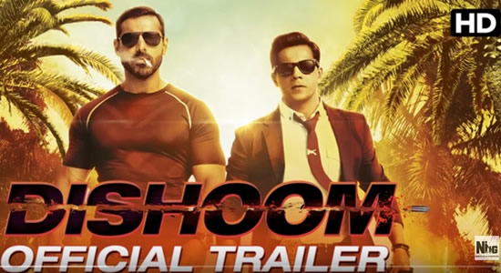 Download Dishoom Official Trailer – Dishoom