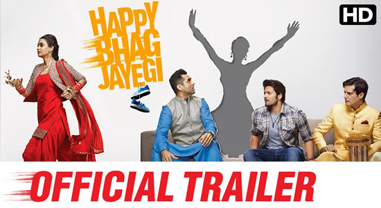 Download Happy Bhag Jayegi Official Trailer – Happy Bhag Jayegi