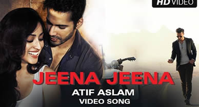 Download Jeena Jeena Promo Video Song of Movie Badlapur