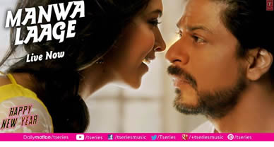 Download Manwa Laage Promo Video Song of Movie Happy New Year