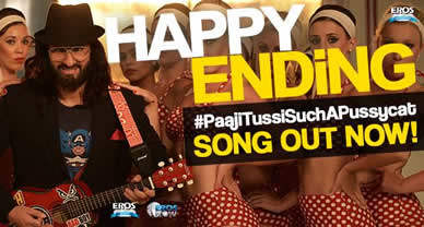Download Paaji Tussi Such A Pussycat Promo Song of Movie Happy Ending