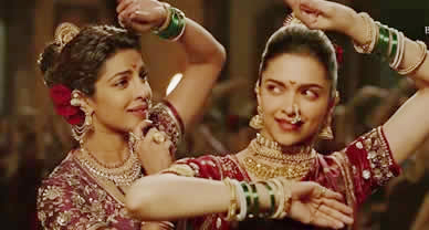 Download Pinga Promo video song of Movie Bajirao Mastani
