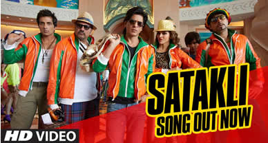 Download Satakli Prom video song of Movie Happy New Year