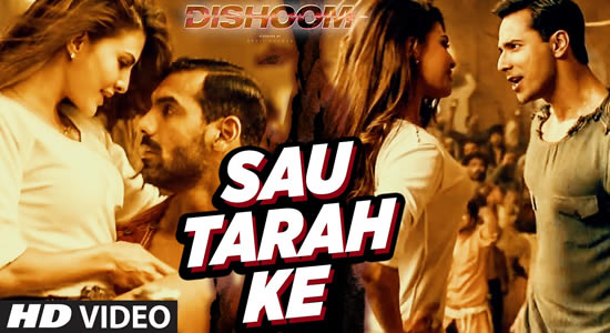 Download Sau Tarah Ke Promo Video Song of Movie Dishoom