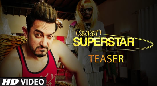 Download Secret Superstar Official Movie Teaser