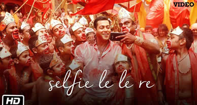 Download Selfie Le Le Re Movie Full HD Video song of Movie Bajrangi Bhaijan