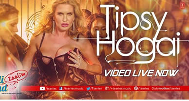 Download Tipsy Hogai Promo Video Song of Movie Dilliwaali Zaalim Girlfriend