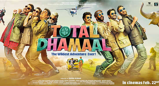 Total Dhamaal HD Desktop Wallpapers