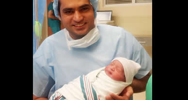 Veena Malik and Asad Bashir Blessed With a Baby Boy
